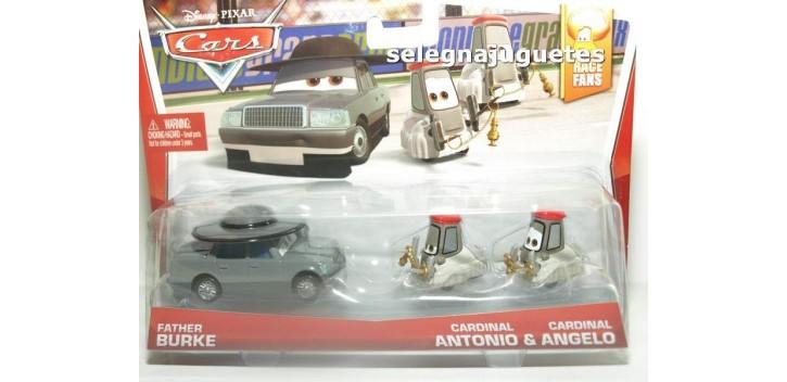 coche miniatura Pelicula Cars Modelos Burke, Antonio y Angelo