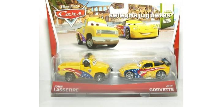 Pelicula Cars Modelos John Lassetire y Jeff Gorvette