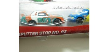 coche miniatura Pelicula Cars Modelos Sputter nº 92 y Gasprin