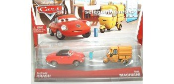 Pelicula Cars Modelos Shawn Krash y Sal Machiani