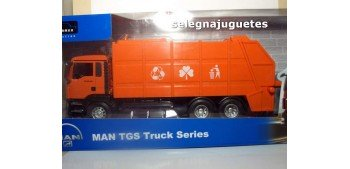 Camión Man Tgs Truck Series Basura escala 1/32 New Ray