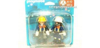 Playmobil - Bomberos, pack de dos figuras 4914