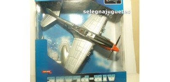 maqueta coches P40 plata avión new ray