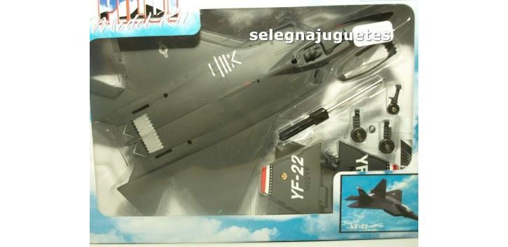 XF-22 avión escala 1/72 New ray maqueta plástico premontada