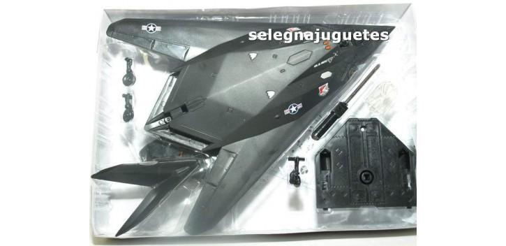 F-117 avión escala 1/72 New ray maqueta plástico premontada