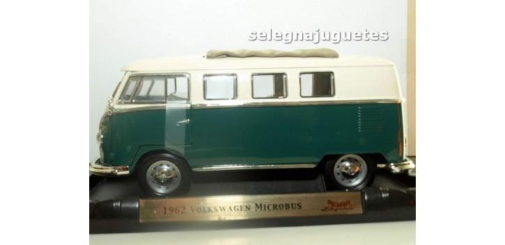 Volkswagen Microbus 1962 Sliding Sunroof Edition oscura 1/18 Yat ming