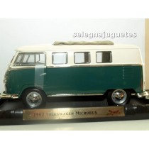 <p>MARCA: <strong>Yat Ming</strong></p> <p>ESCALA - SCALE - ECHELLE - MABSTAB:<strong>1:18 - 1/18</strong></p> <p>MODELO: <strong>Volkswagen Microbus 1962 Siding Sunroof Edition</strong></p>