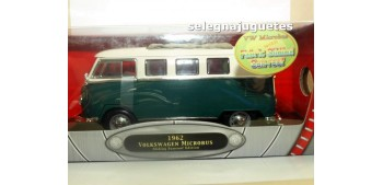 Volkswagen Microbus 1962 Sliding Sunroof Edition oscura 1/18 Yat ming