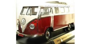 maquetas de coches Volkswagen Microbus Sliding Sunroof Edition