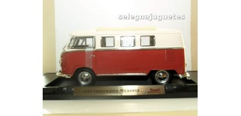 Volkswagen Microbus 1962 Techo cerrado 1/18 Yat ming