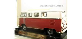 miniature car Volkswagen Microbus 1962 Techo cerrado 1/18 Yat