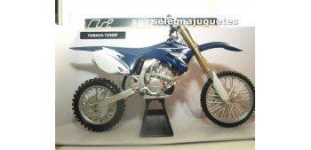 Yamaha YZ450F escala 1/6 New Ray moto miniatura metal