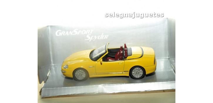Maserati Gransport Spyder amarillo 1/43 Mondo motors coche miniatura