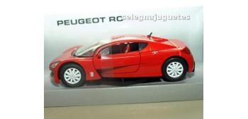 Peugeot RC rojo escala 1/24 MONDO MOTORS