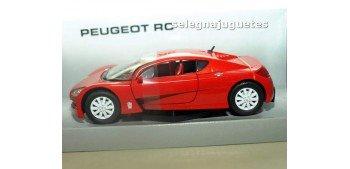 Peugeot RC rojo escala 1/24 MONDO MOTORS Mondo Motors