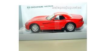 coche miniatura Dodge Viper STR-10 ROJO escala 1/24 MONDO MOTORS