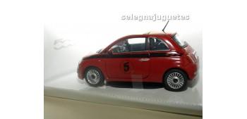 FIAT 500 NUEVO NUMERO 5 ROJO - 1/24 MONDO MOTORS