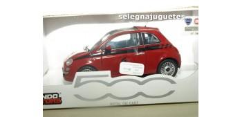 FIAT 500 NUEVO NUMERO 5 ROJO escala 1/24 MONDO MOTORS