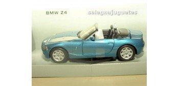 BMW Z4 azul escala 1/24 Mondo motors Mondo Motors
