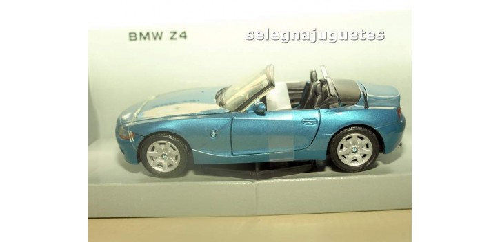 BMW Z4 azul escala 1/24 Mondo motors