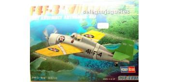 miniature airplane F4F-3 WILDCAT - AVION - 1/72 HOBBY BOSS