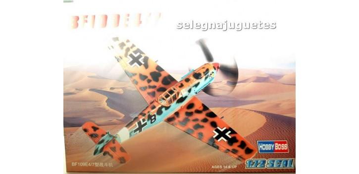 maqueta BF109E4/7 - AVION - 1/72 HOBBY BOSS