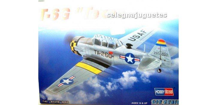 T-6G TEXAN NORTH AMERICA - AVION - 1/72 HOBBY BOSS