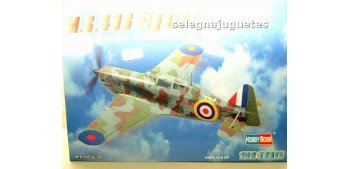 M.S.406 FIGHTER - AVION - 1/72 HOBBY BOSS