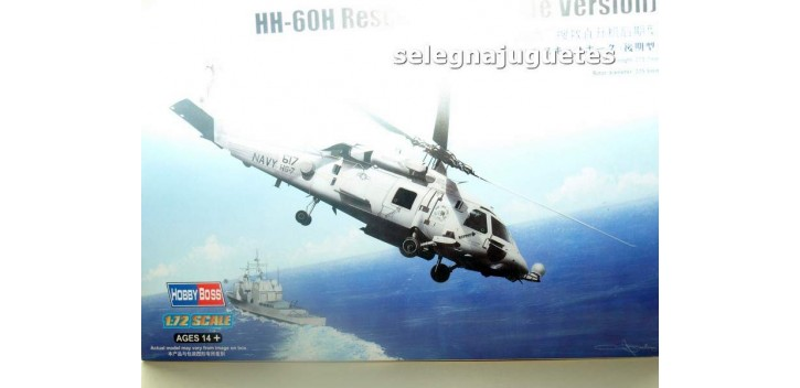 HH-60H RESCUE HAWK LATE VERSION - HELICOPTERO - 1/72 HOBBY BOSS