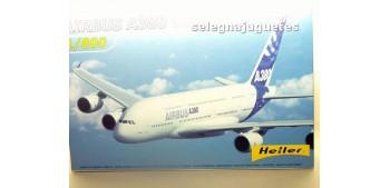 Airbus A380 Premier Vol Maiden Flight escala 1/800 Maqueta Avión para montar