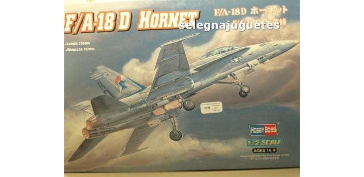 F/A-18 D HORNET - AVION - 1/72 HOBBY BOSS