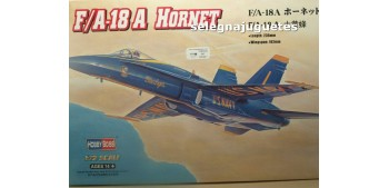miniature airplane F/A-18 A HORNET - AVION - 1/72 HOBBY BOSS