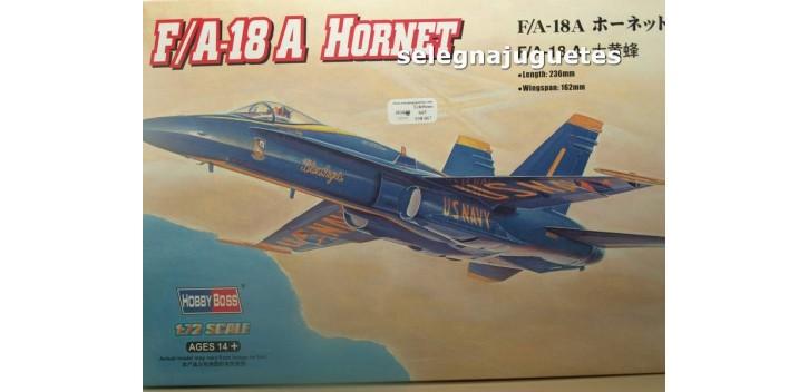 maqueta coches F/A-18 A HORNET - AVION - 1/72 HOBBY BOSS