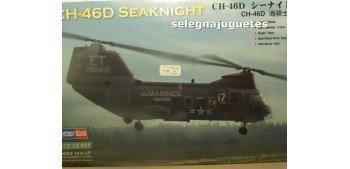 CH-46D Seaknight Helicoptero 1/72 Hobby Boss maqueta plastico