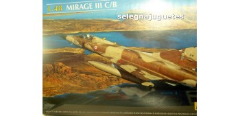 miniature airplane MIRAGE III C/B 1/48 Maqueta Avión para montar