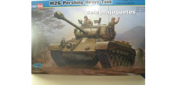 maqueta coches M26 Pershing Heavy Tank (Tanque) 1/35 Hobby Boss