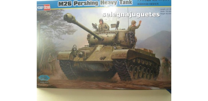 maqueta coches M26 Pershing Heavy Tank (Tanque) 1/35 Hobby Boss
