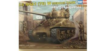 miniature tank U.S. M4A1 (76) W MEDIUM TANK - TANQUE - 1/48