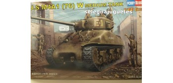 maqueta coches U.S. M4A1 (76) W MEDIUM TANK - TANQUE - 1/48