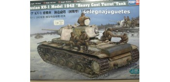 KV-1 MODEL 1942 HEAVY CAST TURRET - TANQUE  - 1/48 HOBBY BOSS