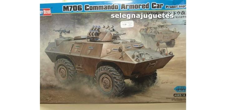 M706 Commando Armored Car Vietnam Tanque escala 1/35 Hobby Boss