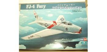 maqueta coches FJ-4 Fury escala 1/48 Hobby Boss Maqueta Avión