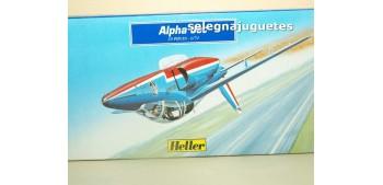 miniature airplane Alpha Jet Heller escala 1/72 Maqueta Avión