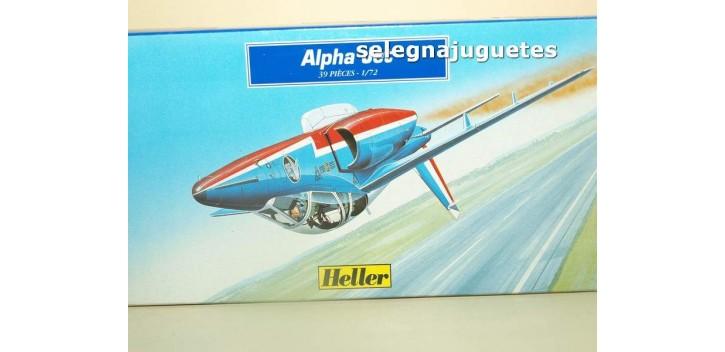 maqueta coches Alpha Jet Heller escala 1/72 Maqueta Avión para