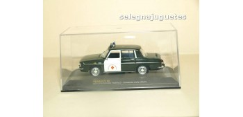 Renault 10 Agrupación de Trafico Guardia Civil 1967 escala 1/43 Ixo