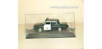 Renault 10 Agrupación de Trafico Guardia Civil 1967 escala 1/43 Ixo