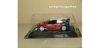 miniature car Citroen Xsara WRC MonteCarlo 2004 - S. Loeb - D.