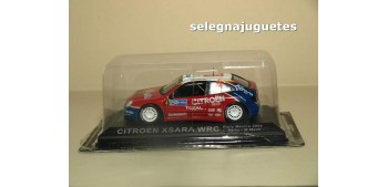 miniature car Citroen Xsara WRC Mexico 2004 - C. Sainz - M.