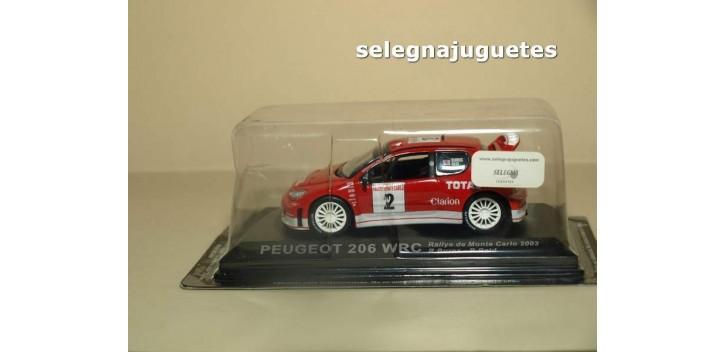 Peugeot 206 WRC Monte Carlo 2003 R. Burns - R. Reid 1:43 Altaya