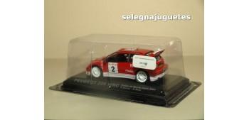 coche miniatura Peugeot 206 WRC Monte Carlo 2003 R. Burns - R.